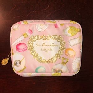 BRAND NEW Les Merveilleuses LADUREE Cosmetic Bag